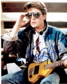Michael J. Fox Signed 8x10 Photo