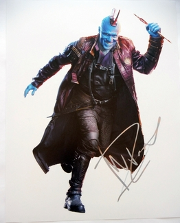 Michael Rooker Signed 11x14 Photo