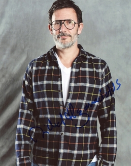 Michel Hazanavicius Signed 8x10 Photo - Video Proof