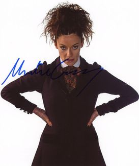 Michelle Gomez Signed 8x10 Photo - Video Proof