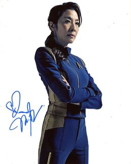 Michelle Yeoh Signed 8x10 Photo
