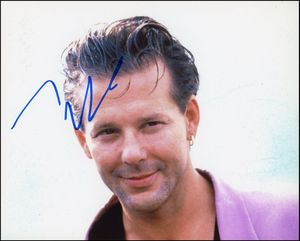 Mickey Rourke Signed 8x10 Photo