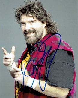 Mick Foley Signed 8x10 Photo
