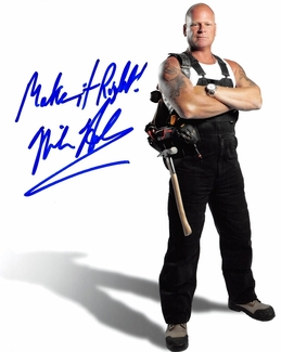 Mike Holmes Signed 8x10 Photo