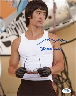 Mike Moh Signed 8x10 Photo - Proof