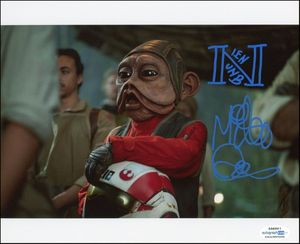 Mike Quinn Signed 8x10 Photo - Proof