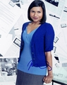 Mindy Kaling Signed 8x10 Photo