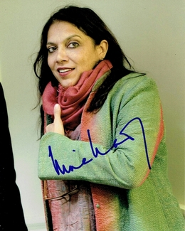 Mira Nair Signed 8x10 Photo - Video Proof