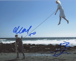 Ella Purnell & Asa Butterfield Signed 8x10 Photo