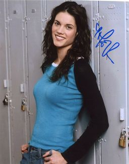 Missy Peregrym Signed 8x10 Photo
