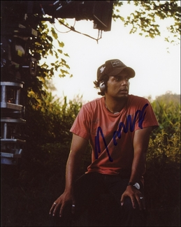M. Night Shyamalan Signed 8x10 Photo