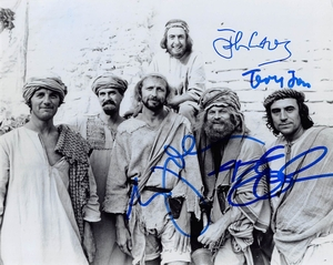 Monty Python Signed 8x10 Photo - Video Proof