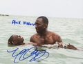 Mahershala Ali & Alex Hibbert Signed 8x10 Photo