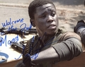 Mpho Koaho Signed 8x10 Photo