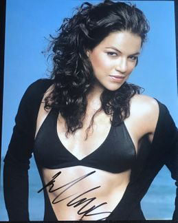 Michelle Rodriguez Signed 11x14 Photo