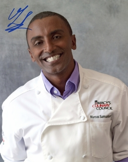 Marcus Samuelsson Signed 8x10 Photo