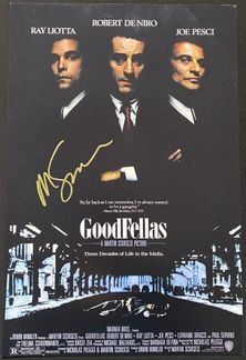 Martin Scorsese Signed 12x18 Photo - Video Proof