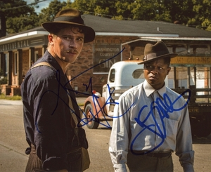 Garrett Hedlund & Jason Mitchell Signed 8x10 Photo