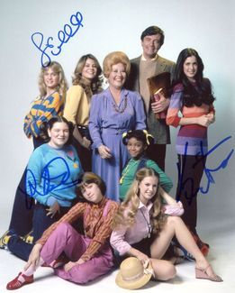 The Facts of Life Signed 8x10 Photo