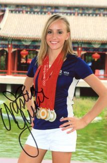 Nastia Liukin Signed 4x6 Photo