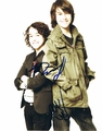 Nat & Alex Wolff Signed 8x10 Photo