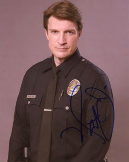 Nathan Fillion Signed 8x10 Photo