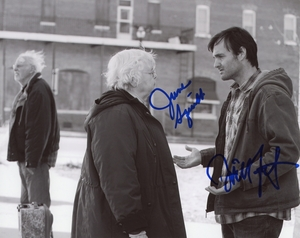 June Squibb & Will Forte Signed 8x10 Photo