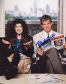 Debra Messing & Thomas Haden Church Signed 8x10 Photo - Video Proof