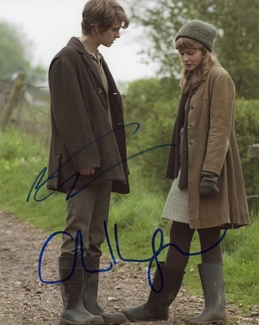 Andrew Garfield & Carey Mulligan Signed 8x10 Photo