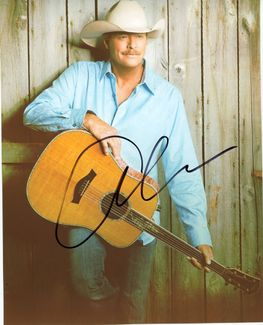 Alan Jackson Signed 8x10 Photo