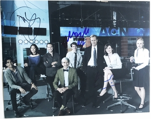 The Newsroom Signed 11x14 Photo