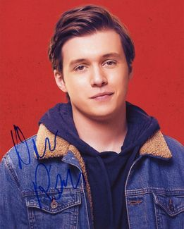 Nick Robinson Signed 8x10 Photo