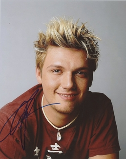 Nick Carter Signed 8x10 Photo