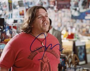 Nick Frost Signed 8x10 Photo - Video Proof