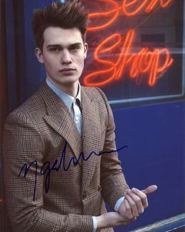 Nicholas Galitzine Signed 8x10 Photo - Video Proof