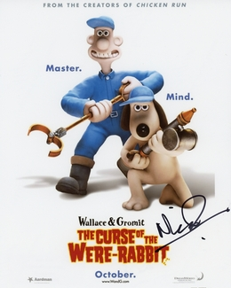 Nick Park Signed 8x10 Photo