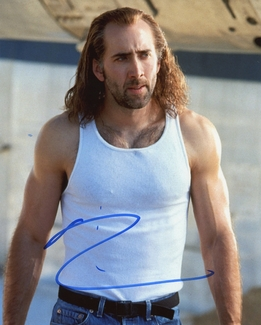 Nicolas Cage Signed 8x10 Photo