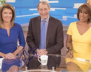 Norah O'Donnell Signed 8x10 Photo