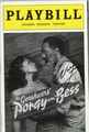 Norm Lewis Signed Playbill