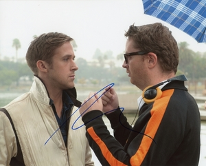 Nicolas Winding Refn Signed 8x10 Photo - Video Proof