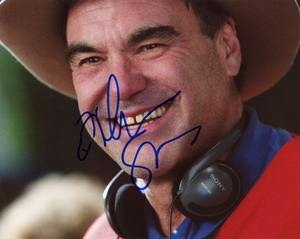 Oliver Stone Signed 8x10 Photo - Video Proof