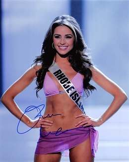 Olivia Culpo Signed 8x10 Photo