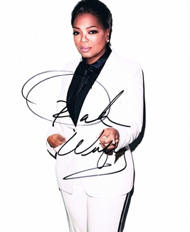 Oprah Winfrey Signed 8x10 Photo - Proof
