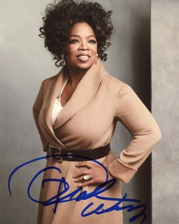 Oprah Winfrey Signed 8x10 Photo