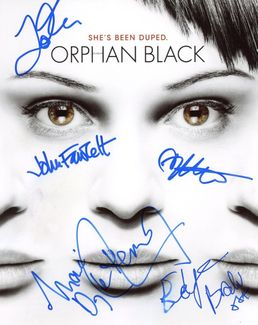 Orphan Black Signed 8x10 Photo