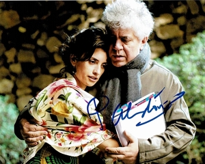 Pedro Almodovar Signed 8x10 Photo