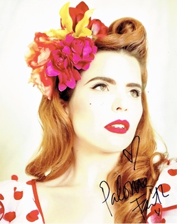 Paloma Faith Signed 8x10 Photo