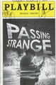 Passing Strange Signed Playbill