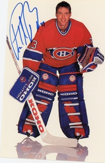 Patrick Roy Signed 3.5x5.5 Photo