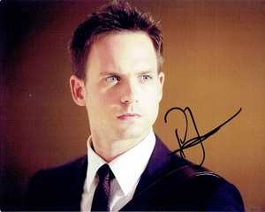 Patrick J. Adams Signed 8x10 Photo